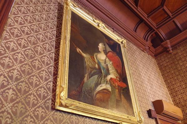 Портрет Екатерины II в Воронцовском дворце