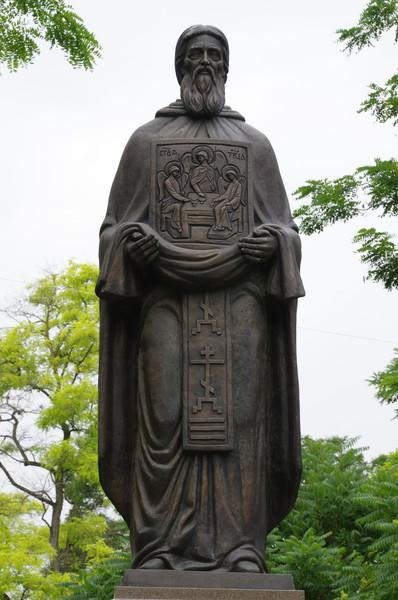 Памятник «Сергий Радонежский — собиратель земли русской» в Симферополе