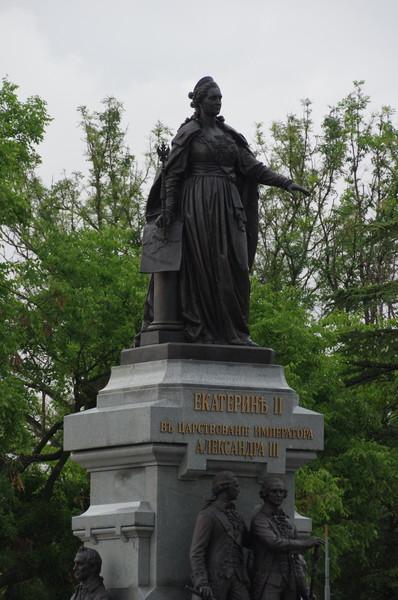Памятник императрице Екатерине II в Симферополе