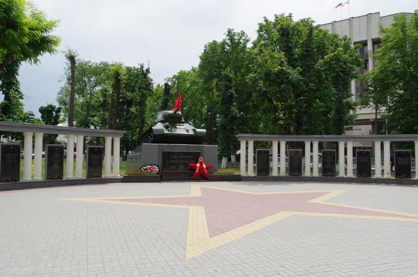 Сквер Победы в Симферополе