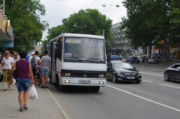 Крым, город Симферополь, улица Гагарина