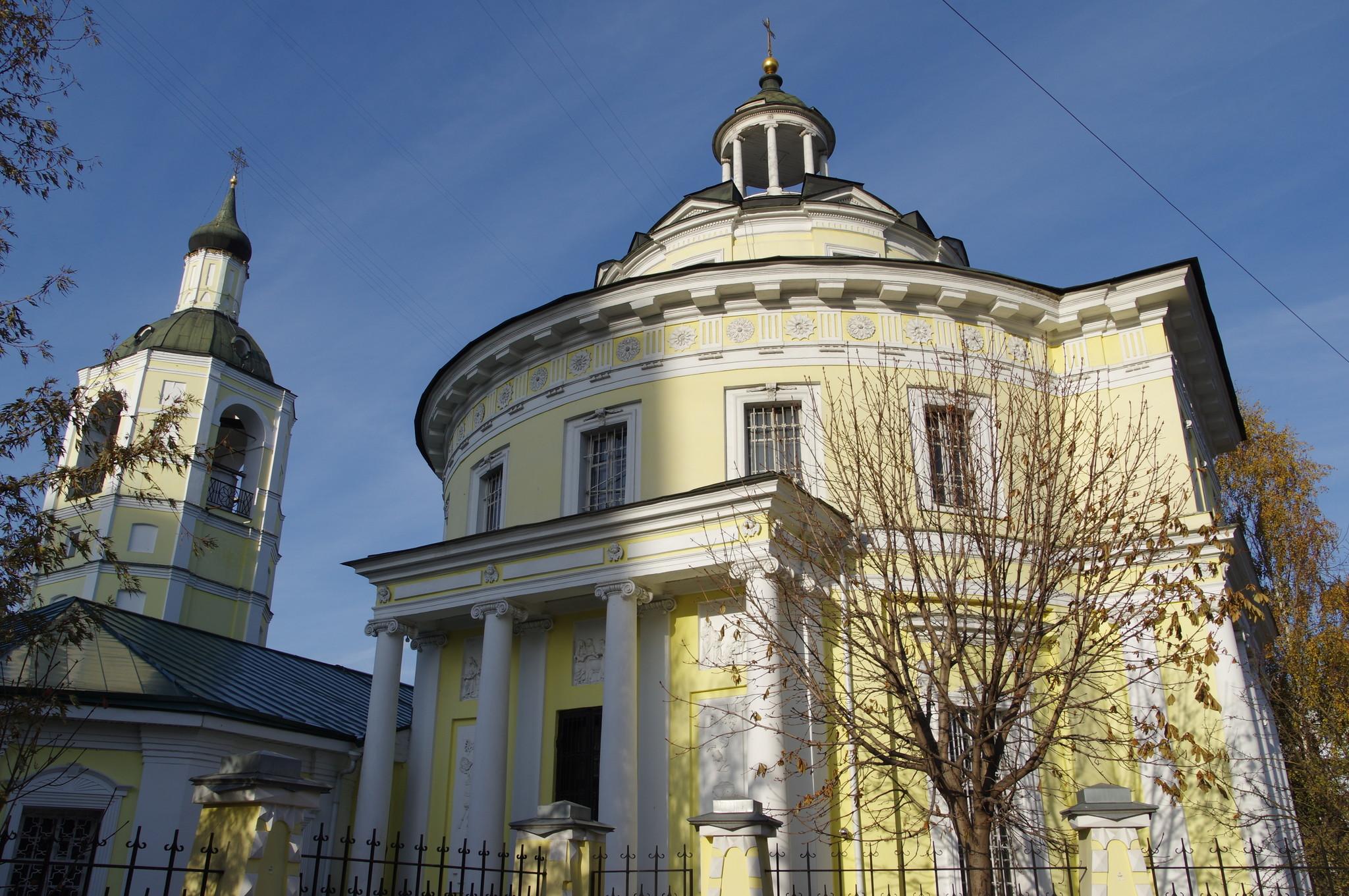 Храм святителя Филиппа митрополита Московского в Мещанской Слободе (улица Гиляровского, дом 35)