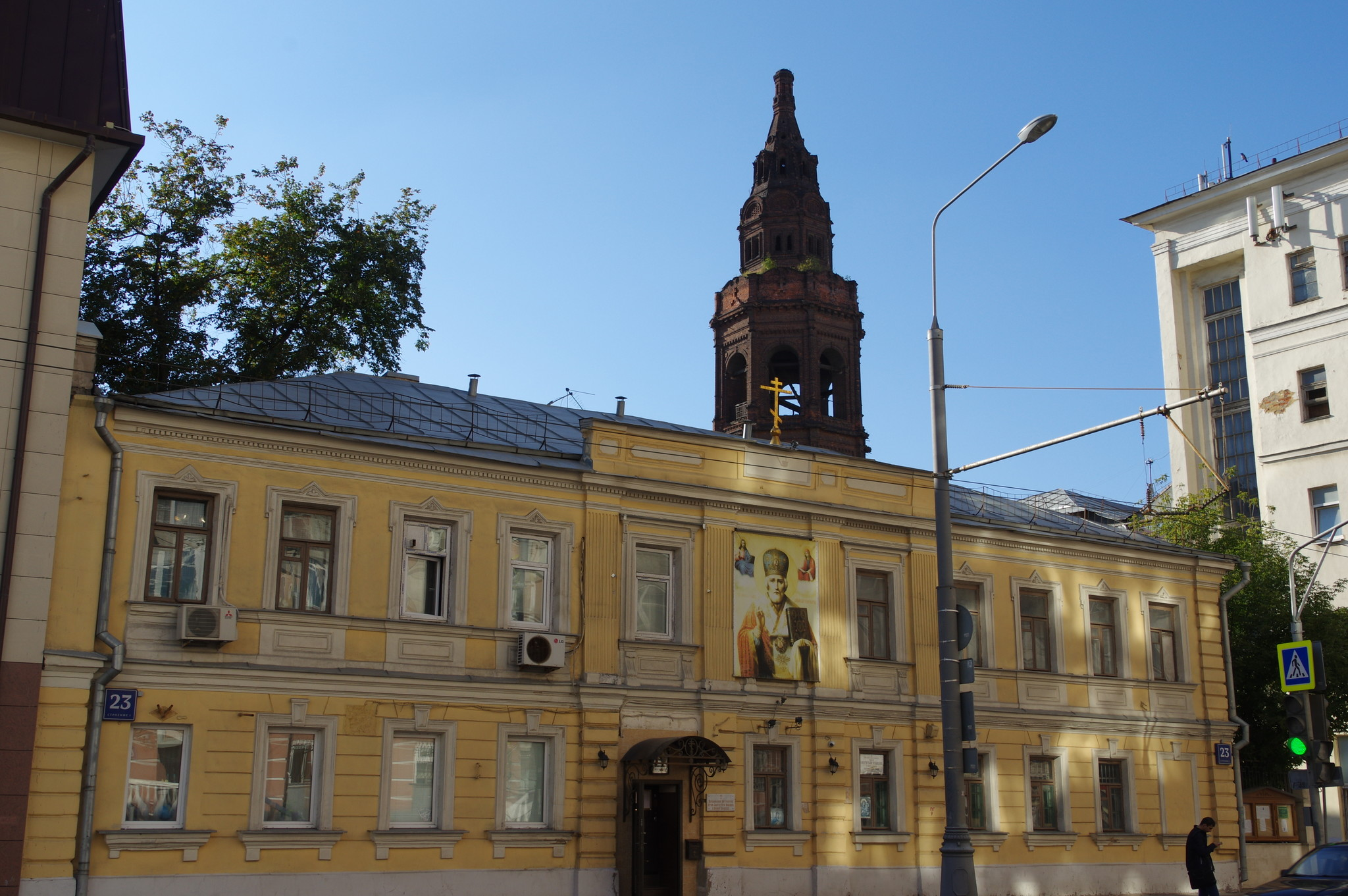 Дом причта Церкви святителя Николая Чудотворца в Новой Слободе (Долгоруковская улица, дом 23)