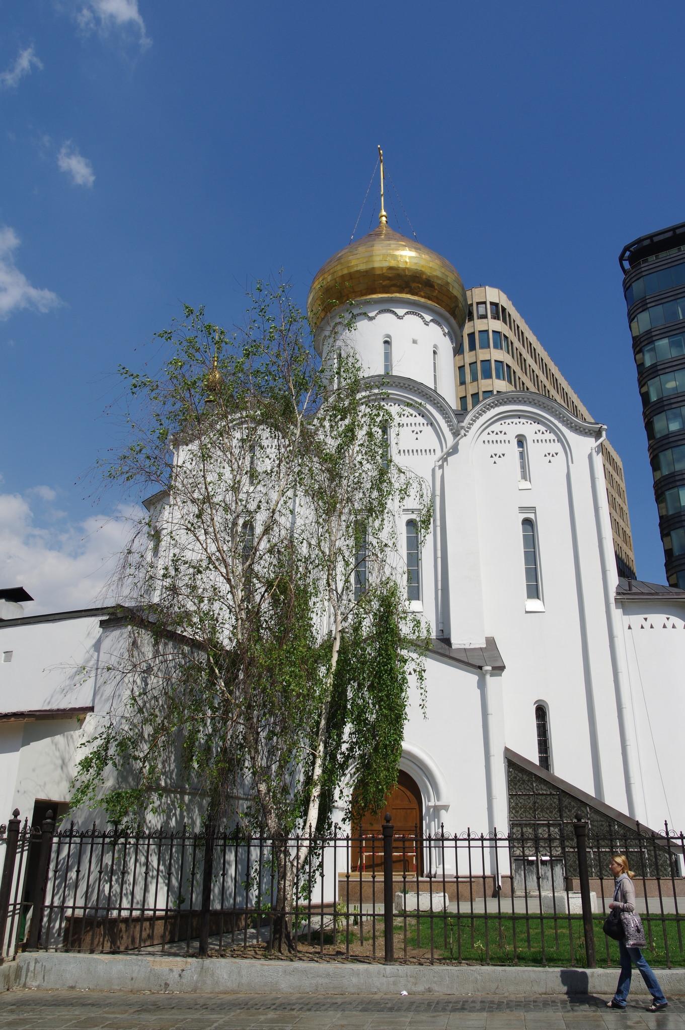Храм Николы Чудотворца у Тверской заставы