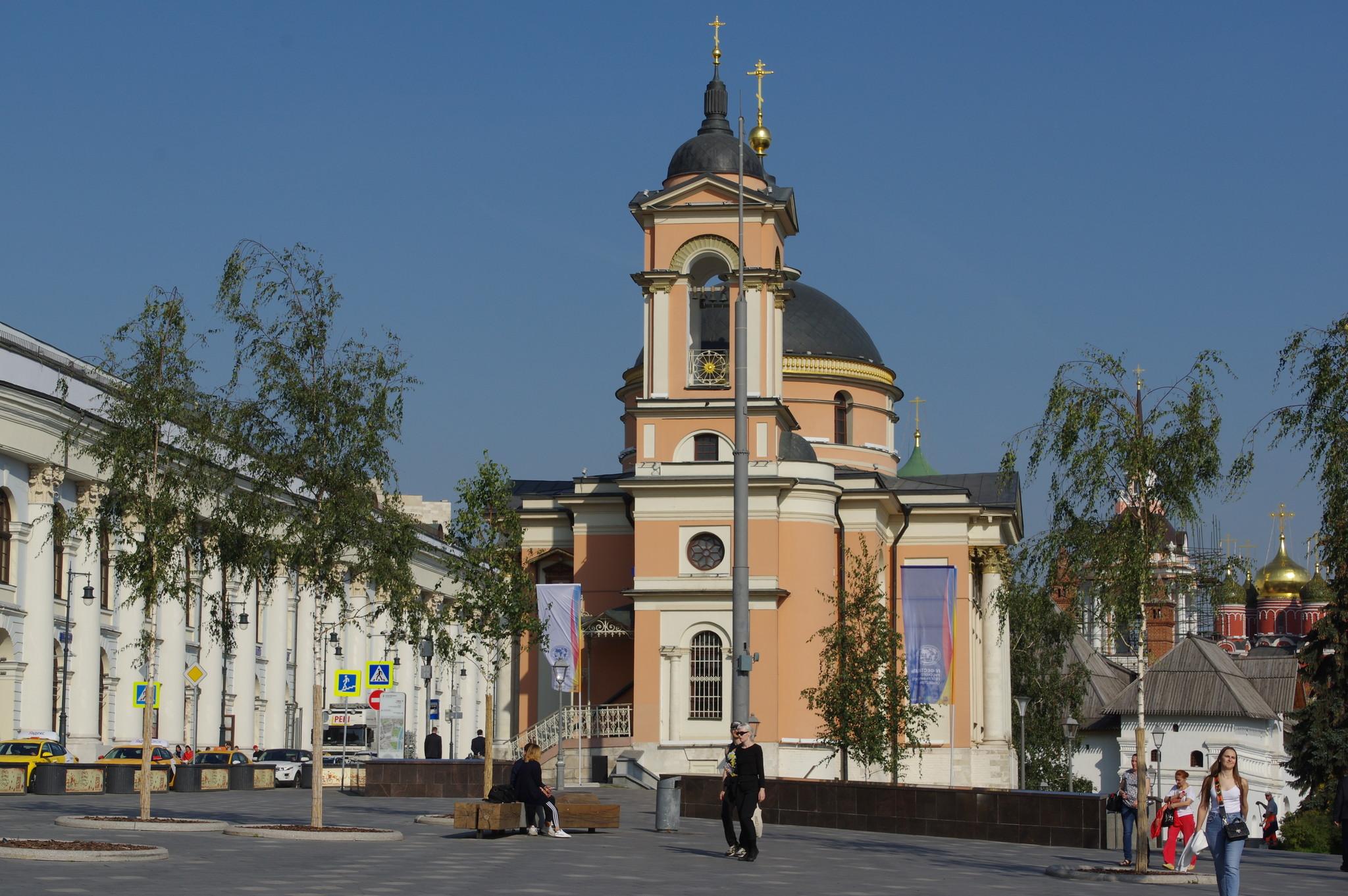 Храм Святой Великомученицы Варвары (улица Варварка, дом 2)