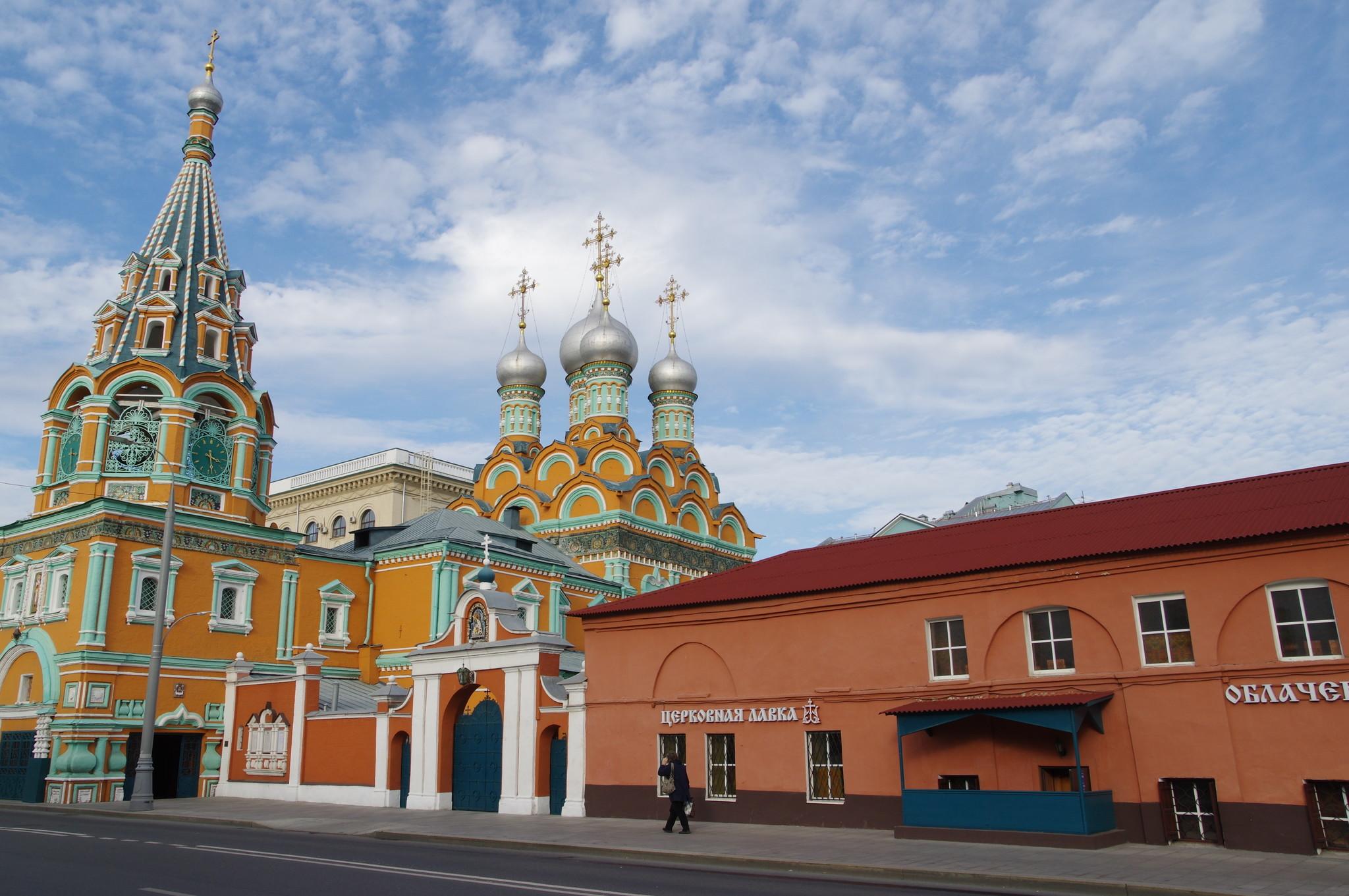 Храм святителя Григория Неокесарийского в Дербицах (улица Большая Полянка, 29)