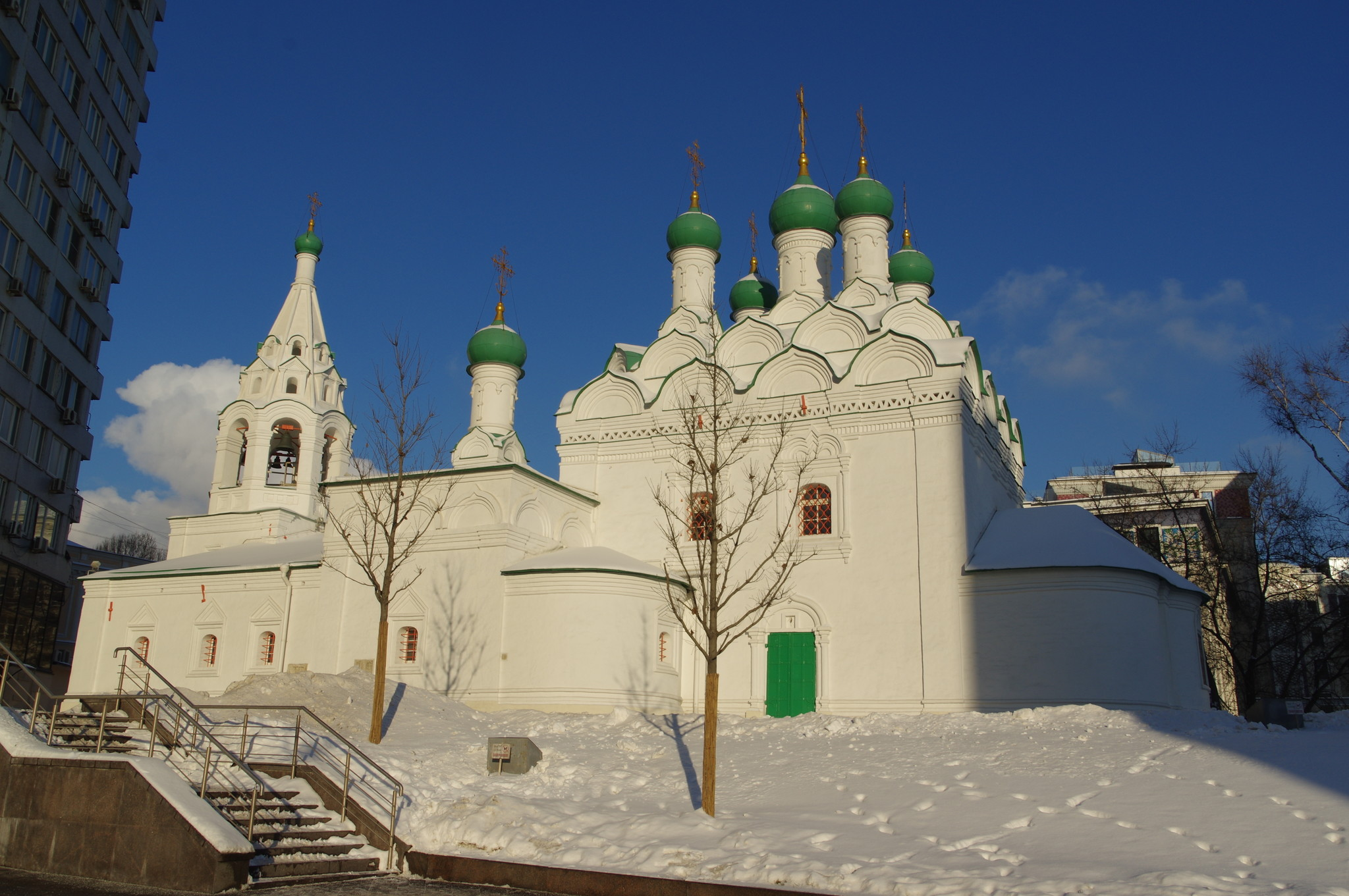 Храм преподобного Симеона Столпника на Поварской