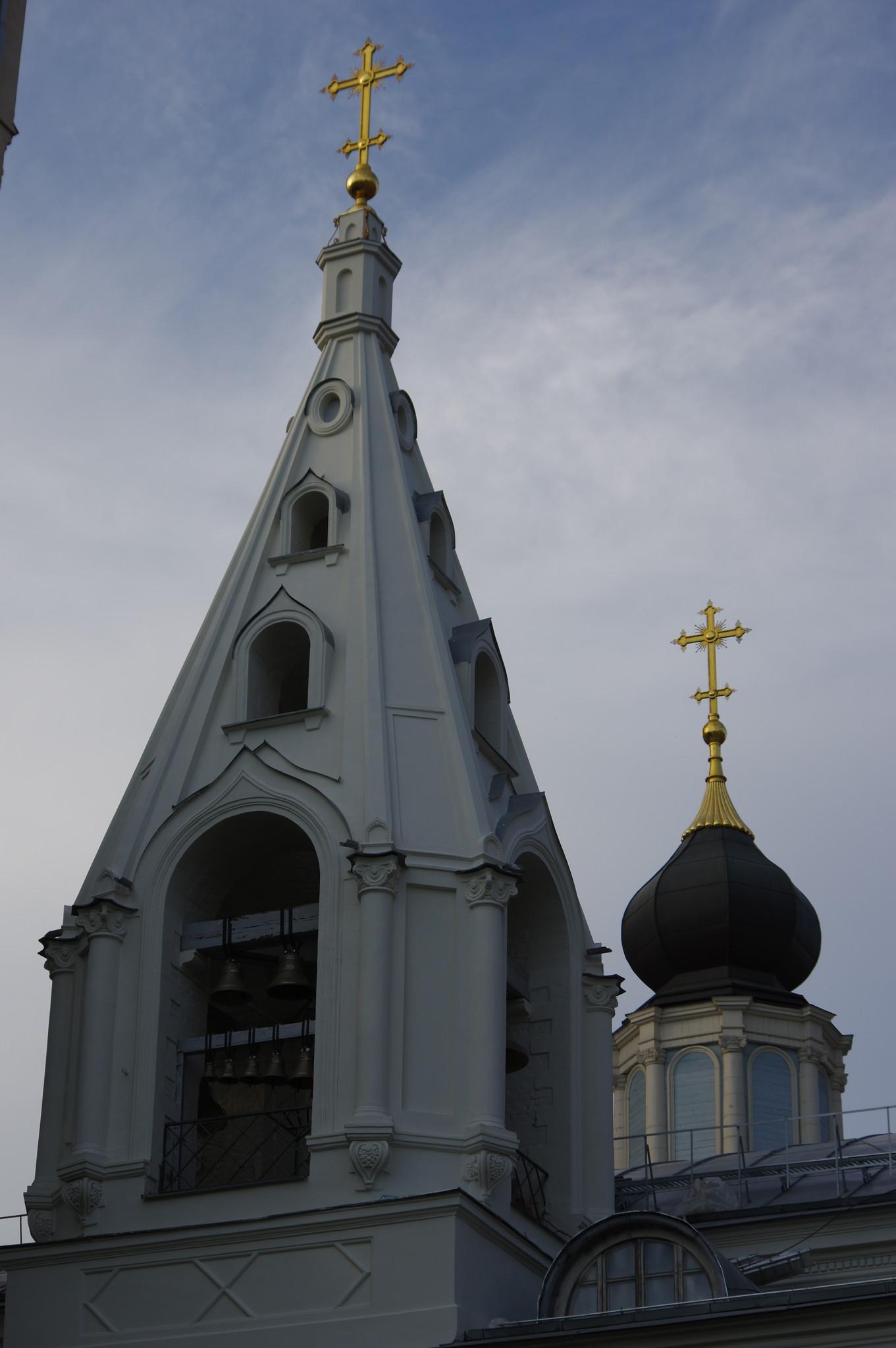 Церковь Успения Пресвятой Богородицы на Успенском вражке