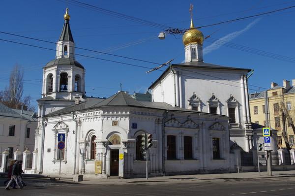 Храм Успения Пресвятой Богородицы в Печатниках (ул. Сретенка, дом 3)