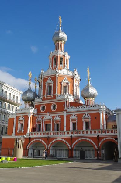 Церковь Знамения иконы Божией Матери на Шереметьевом дворе (Романов переулок, дом 2)
