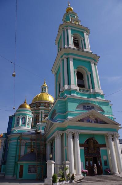 Богоявленский кафедральный собор в Елохове (Спартаковская улица, дом 15)