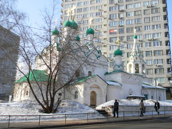 Церковь Симеона Столпника на Поварской, которую посещал Н.В. Гоголь в последние годы своей жизни