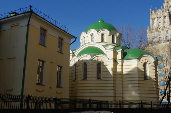 Храм во имя Свт. Николая Чудотворца в Рукавишниковском исправительном приюте для подростков-правонарушителей