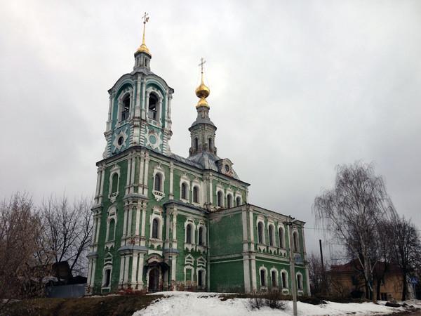 Никитская церковь города Владимира
