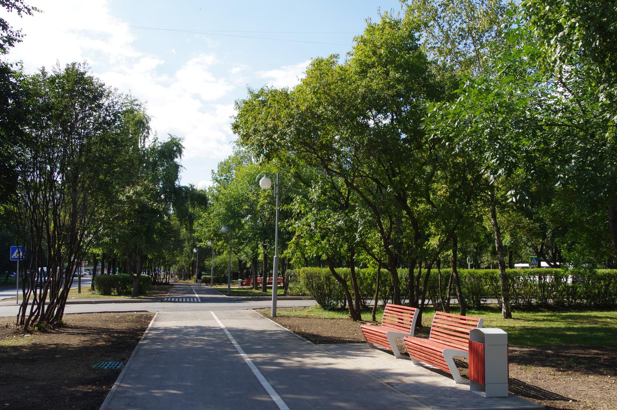 «Народной парк» на улице Череповецкая