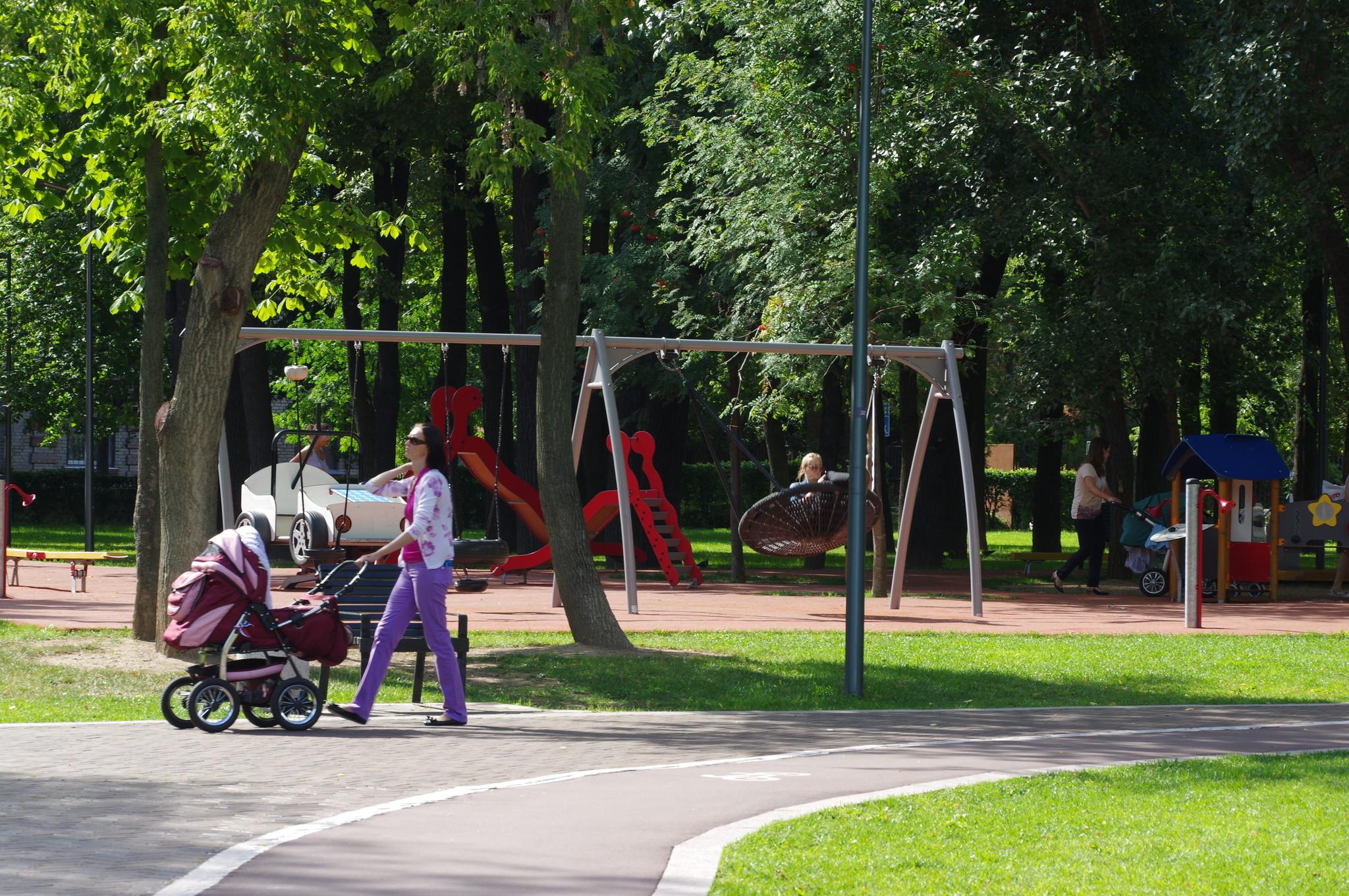 В Гончаровском парке