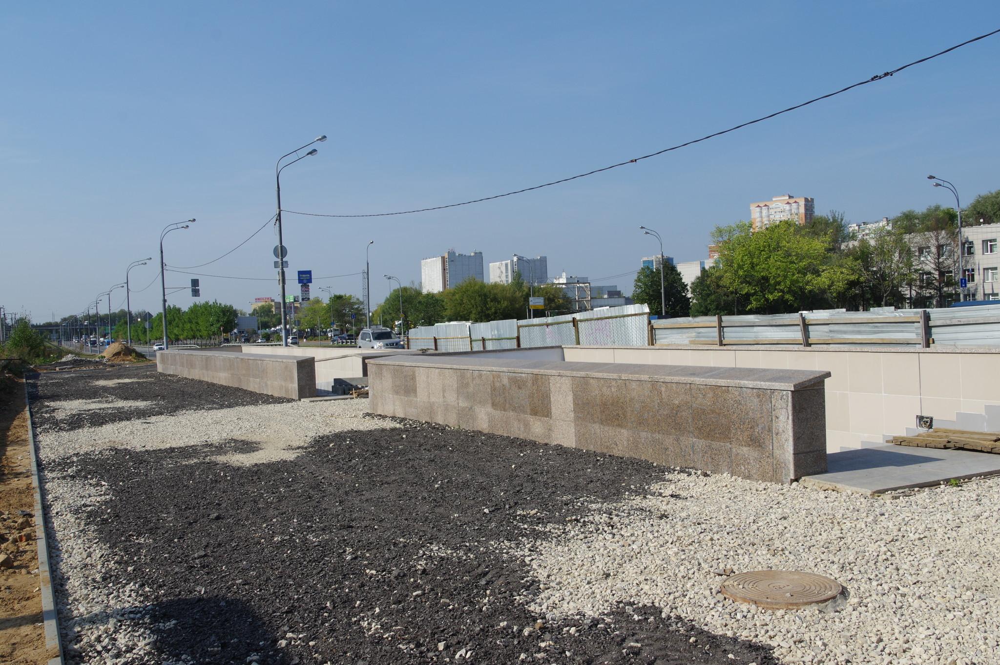 Подземный переход у платформы «Лианозово»
