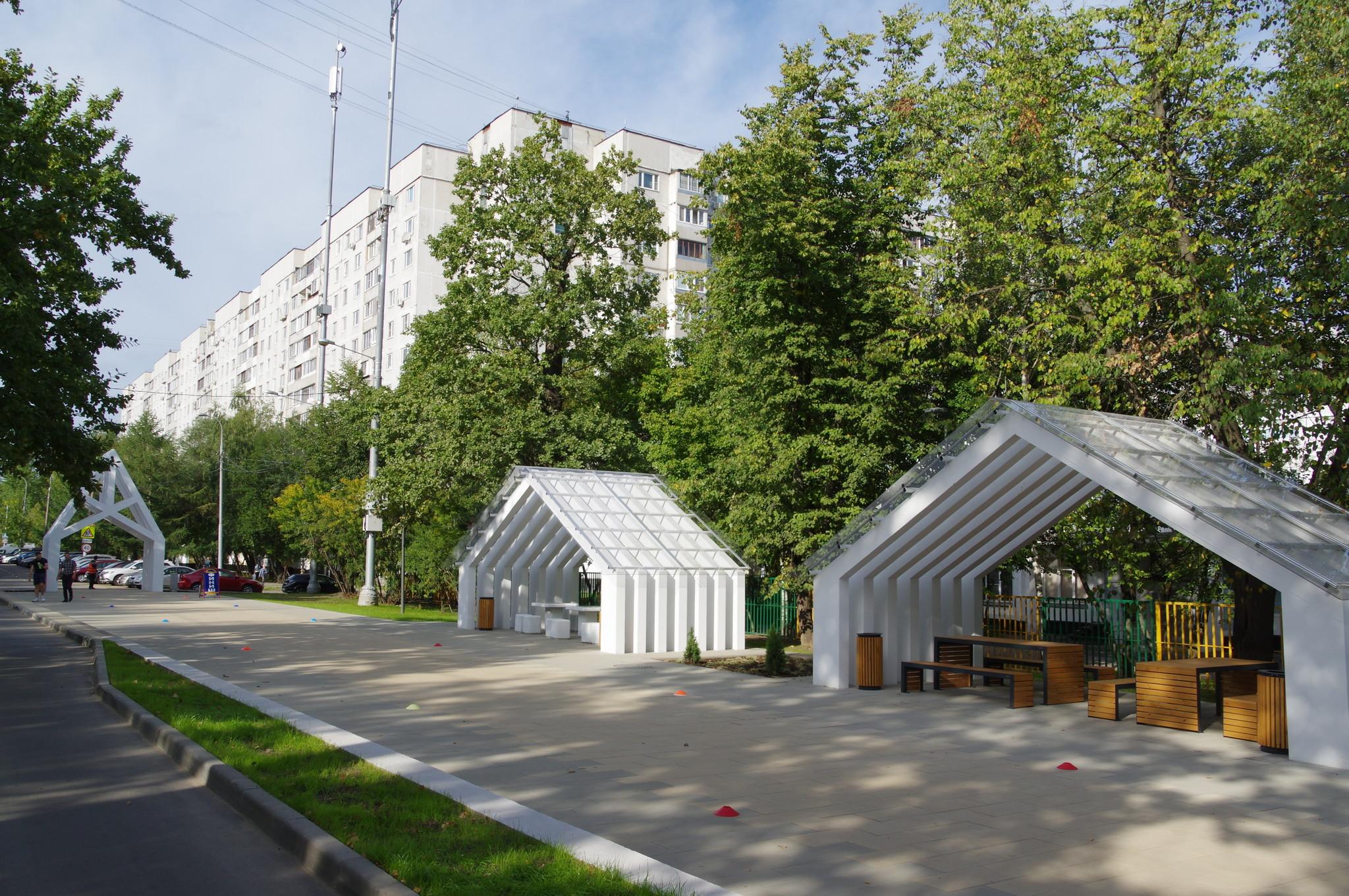 Пешеходная зона «Лианозовский променад»
