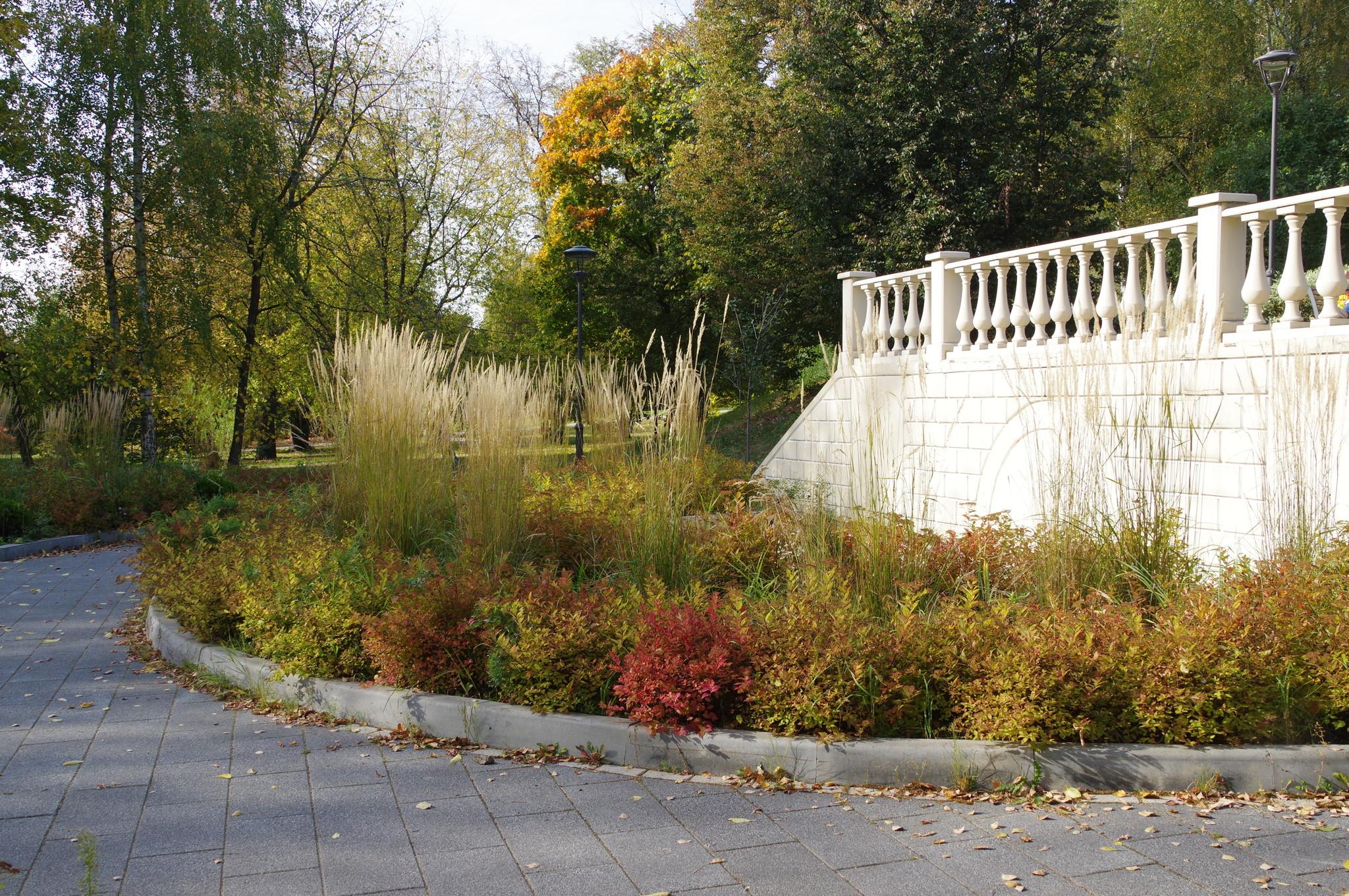 Балюстрада в парке «Сад будущего»