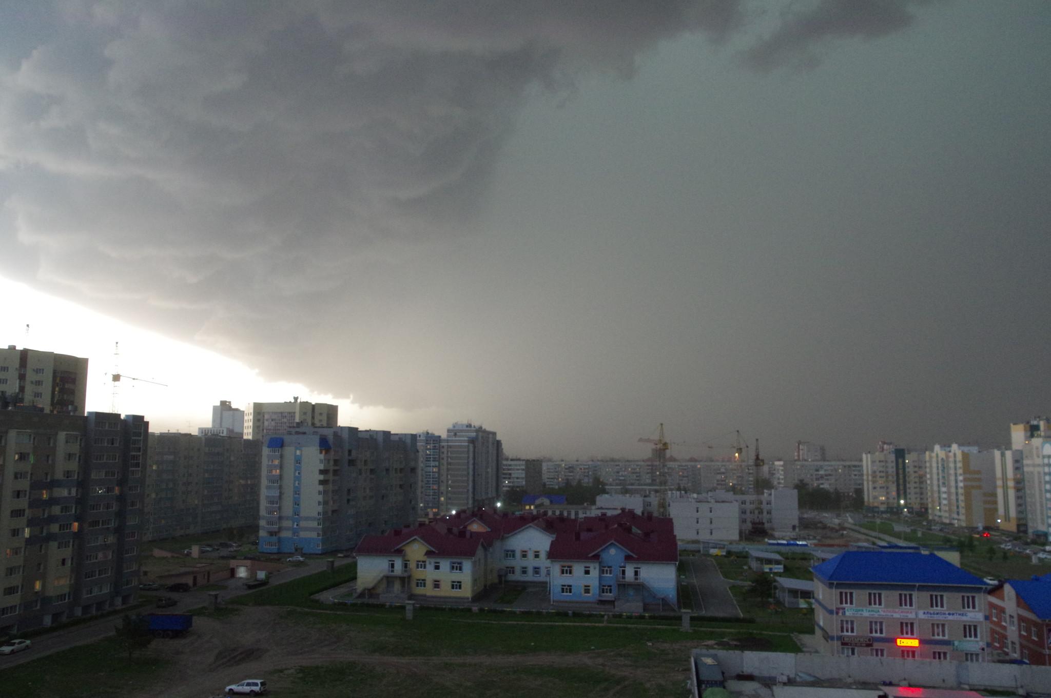 Ураган в Барнауле