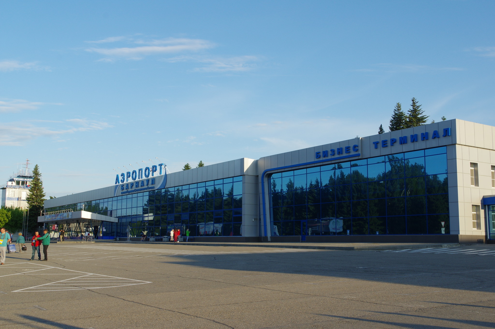 Международный аэропорт Барнаул имени Германа Степановича Титова