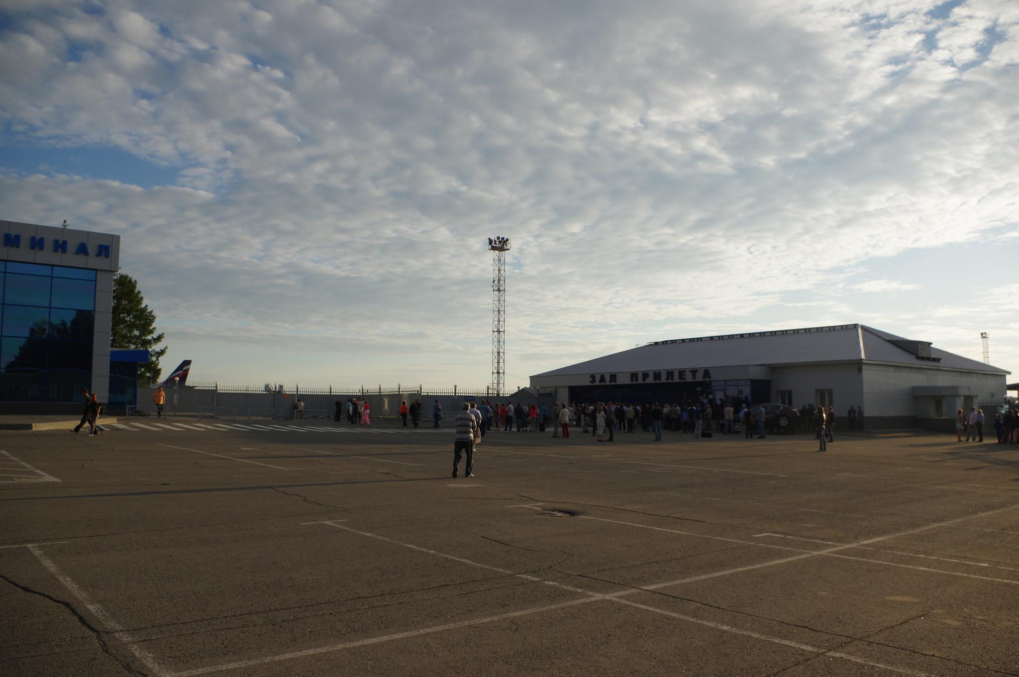 Аэропорт Барнаула. Зал прилёта