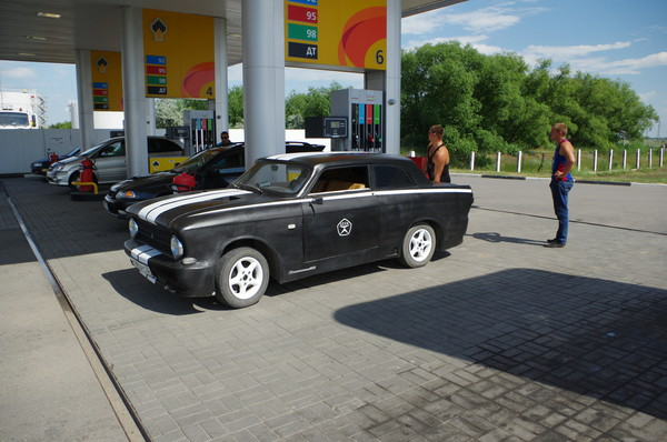 Бензино-раздаточные колонки (п.г.т. Благовещенка, Алтайский край)