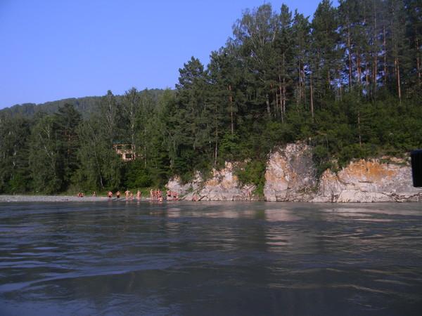 На реке Катунь