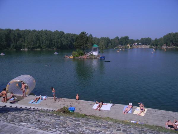 Отдых на озере Ая