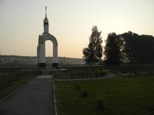 Мемориальный комплекс на месте гибели Михаила Сергеевича Евдокимова