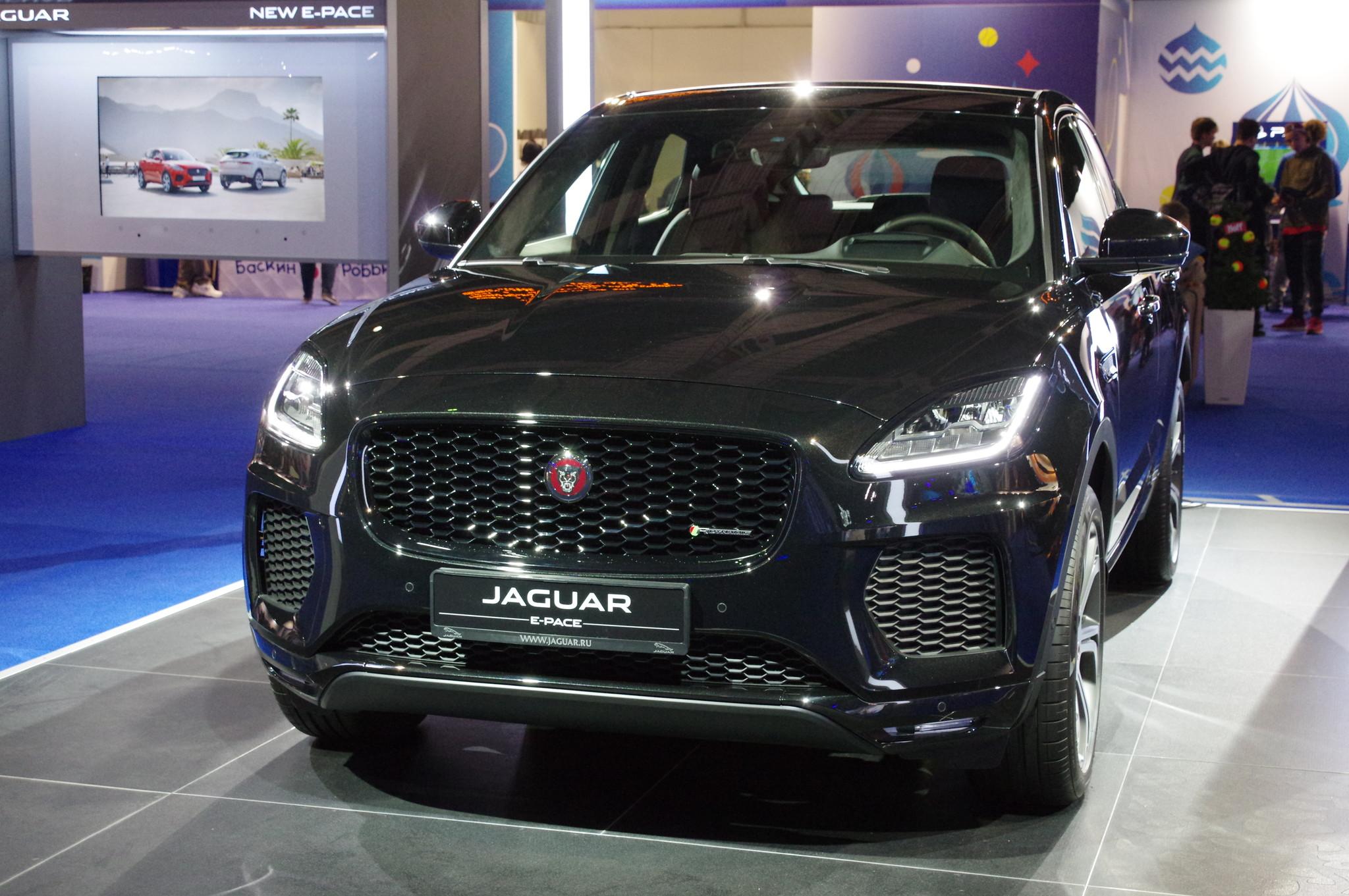 Кроссовер Jaguar E-PACE