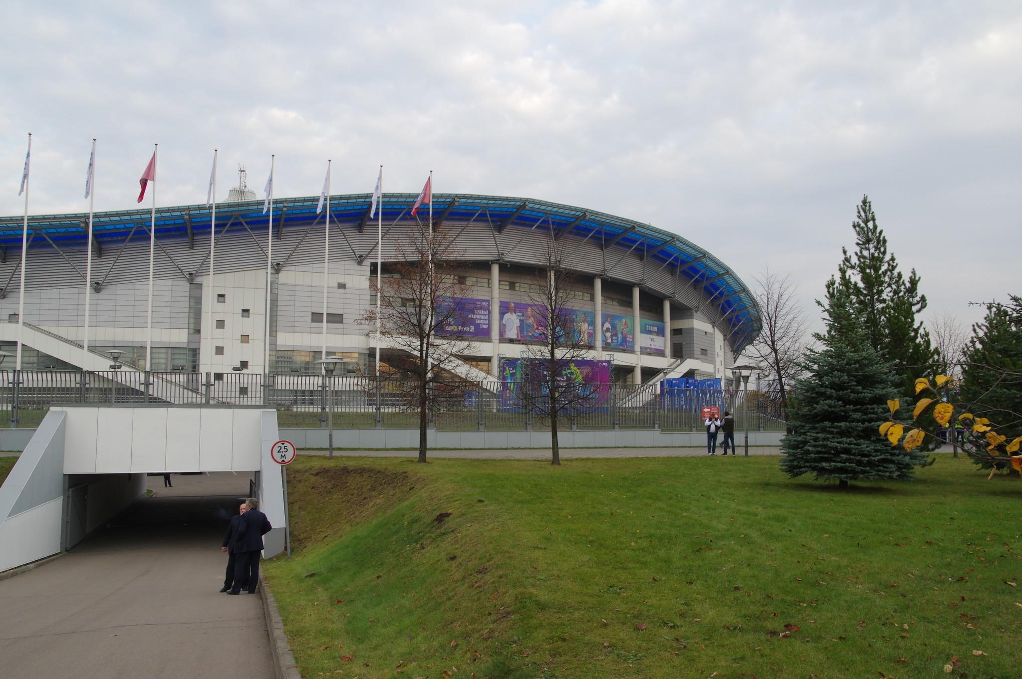 Ледовый дворец «Крылатское» (Крылатская улица, дом 16)