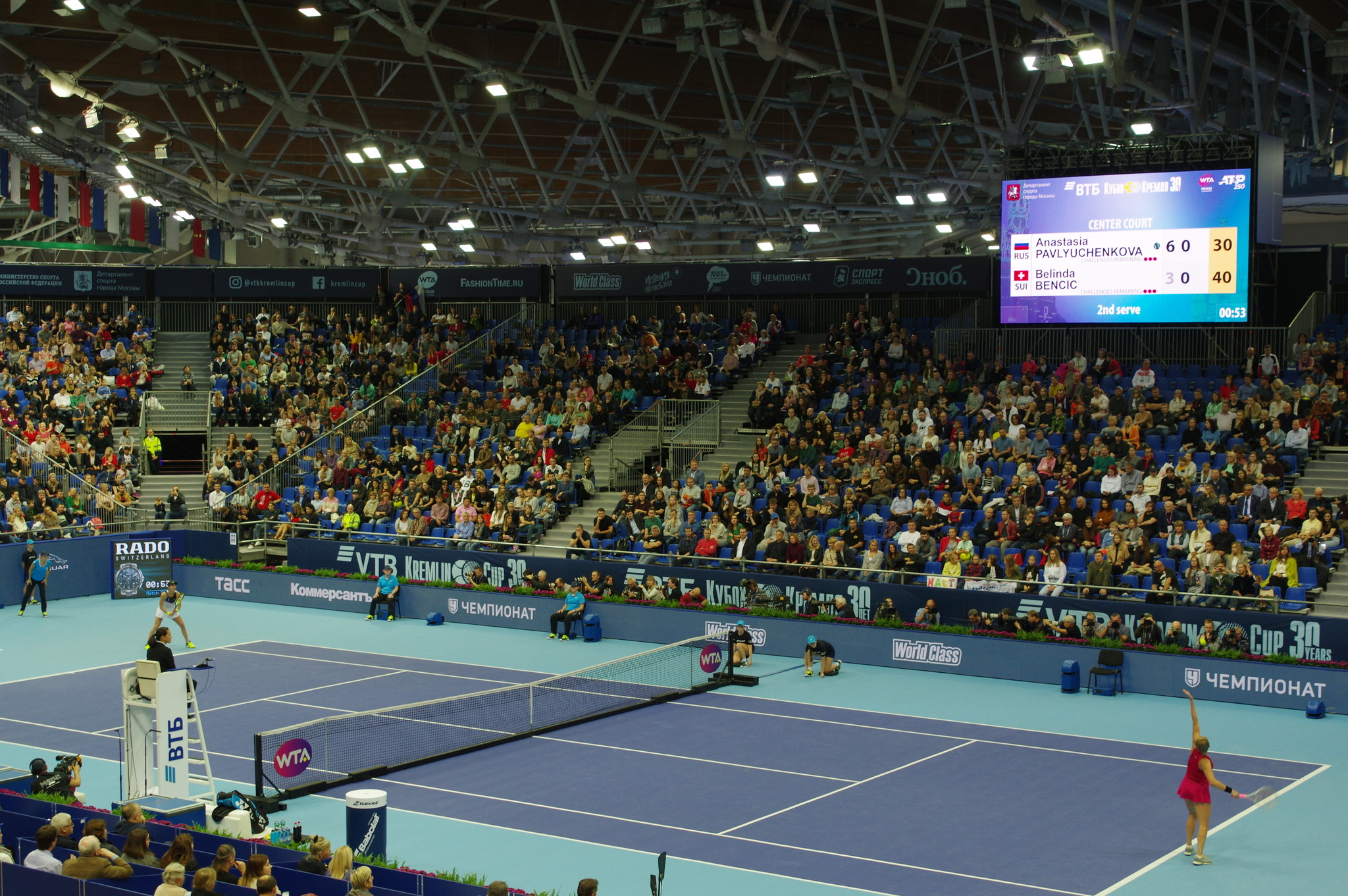 30-й Международный теннисный турнир «ВТБ Кубок Кремля»