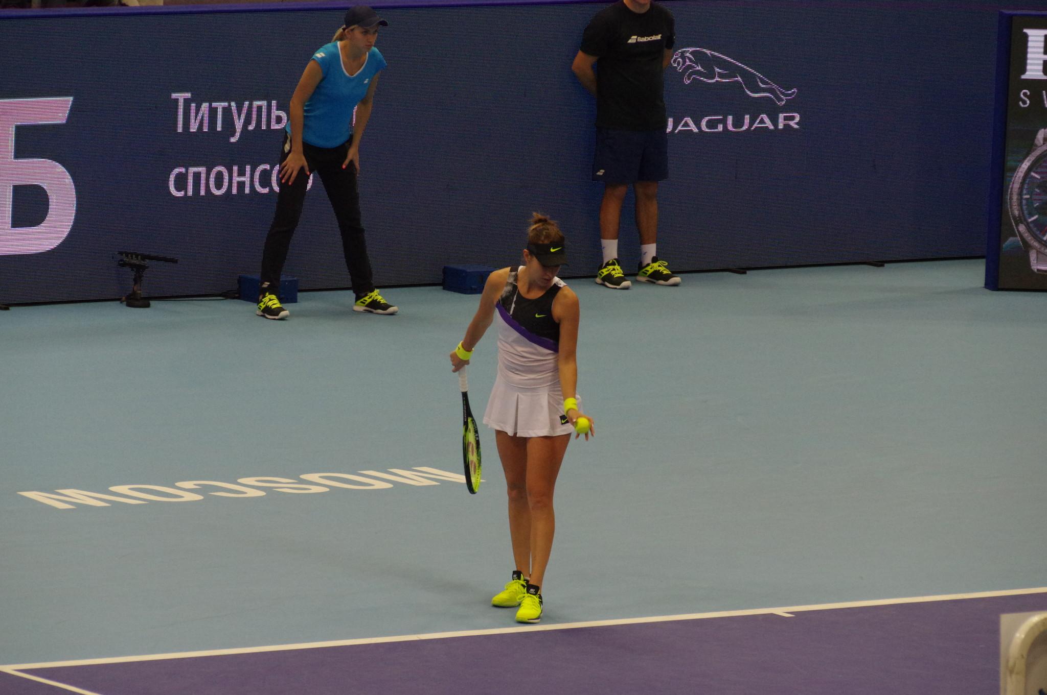 Швейцарская теннисистка Белинда Бенчич