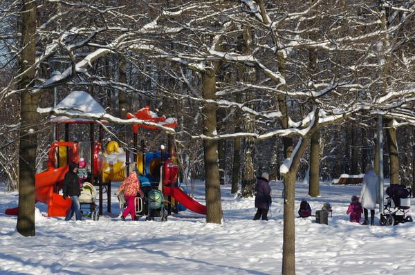 Парк в 4-м микрорайоне Северного