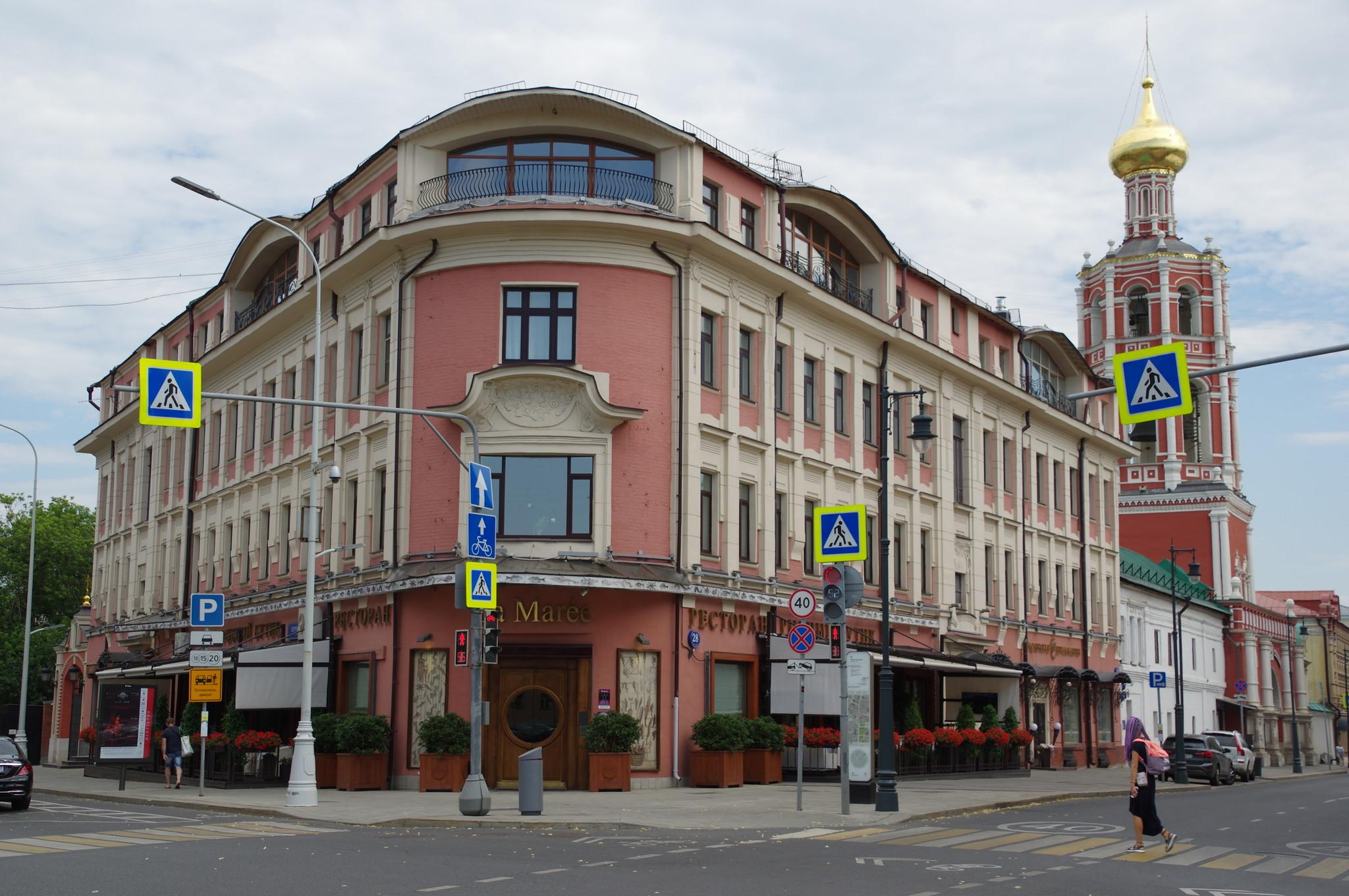 Ресторан «La Marée» (улица Петровка, дом 28, строение 1)