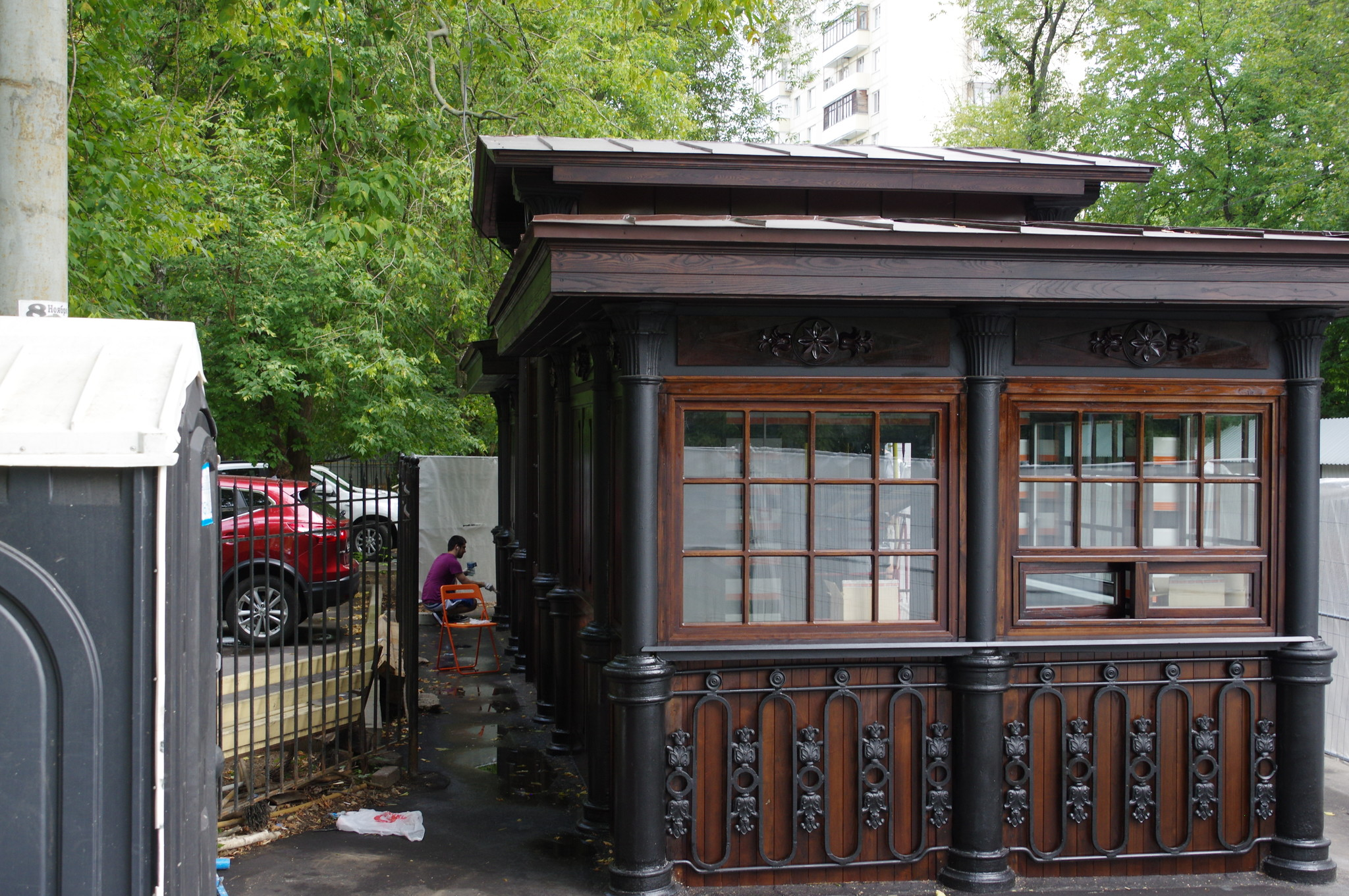 Павильон трамвайной остановки «Красностуденческий проезд»