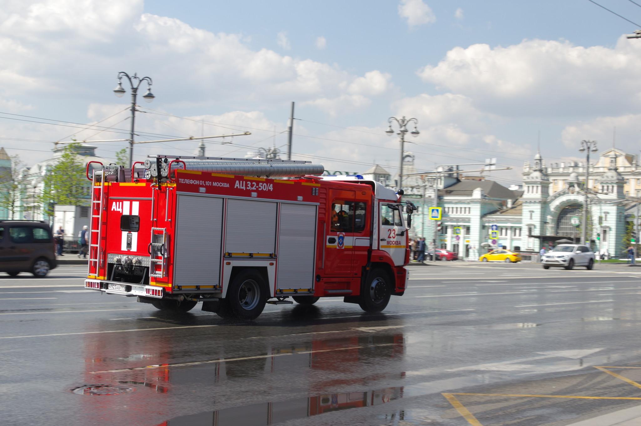 Пожарная автоцистерна АЦ-3,2-50/4