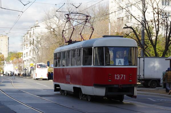 Маршрут трамвая «А» проходит через районы Якиманка, Донской, Даниловский, Замоскворечье, Таганский, Басманный