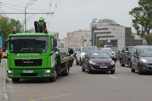 На улице Зацепский Вал