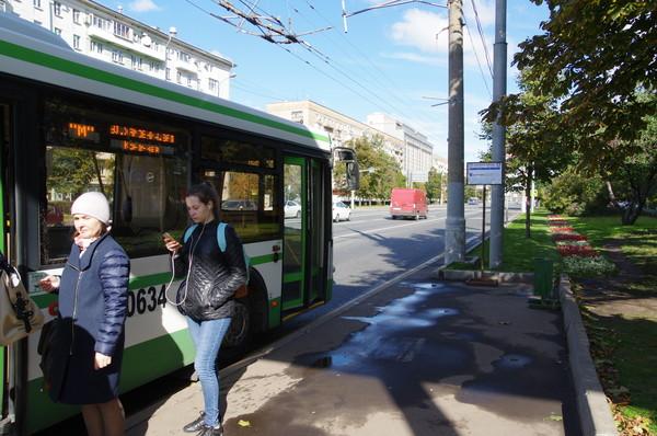 Бесплатный маршрут «М» — от станции метро «Парк культуры» до улицы Хамовнический Вал