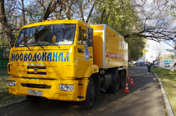 Машина каналопромывочная ДКТ-275 на шасси КамАЗ-65115