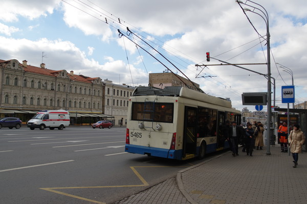 Троллейбус № Б (кольцевой)