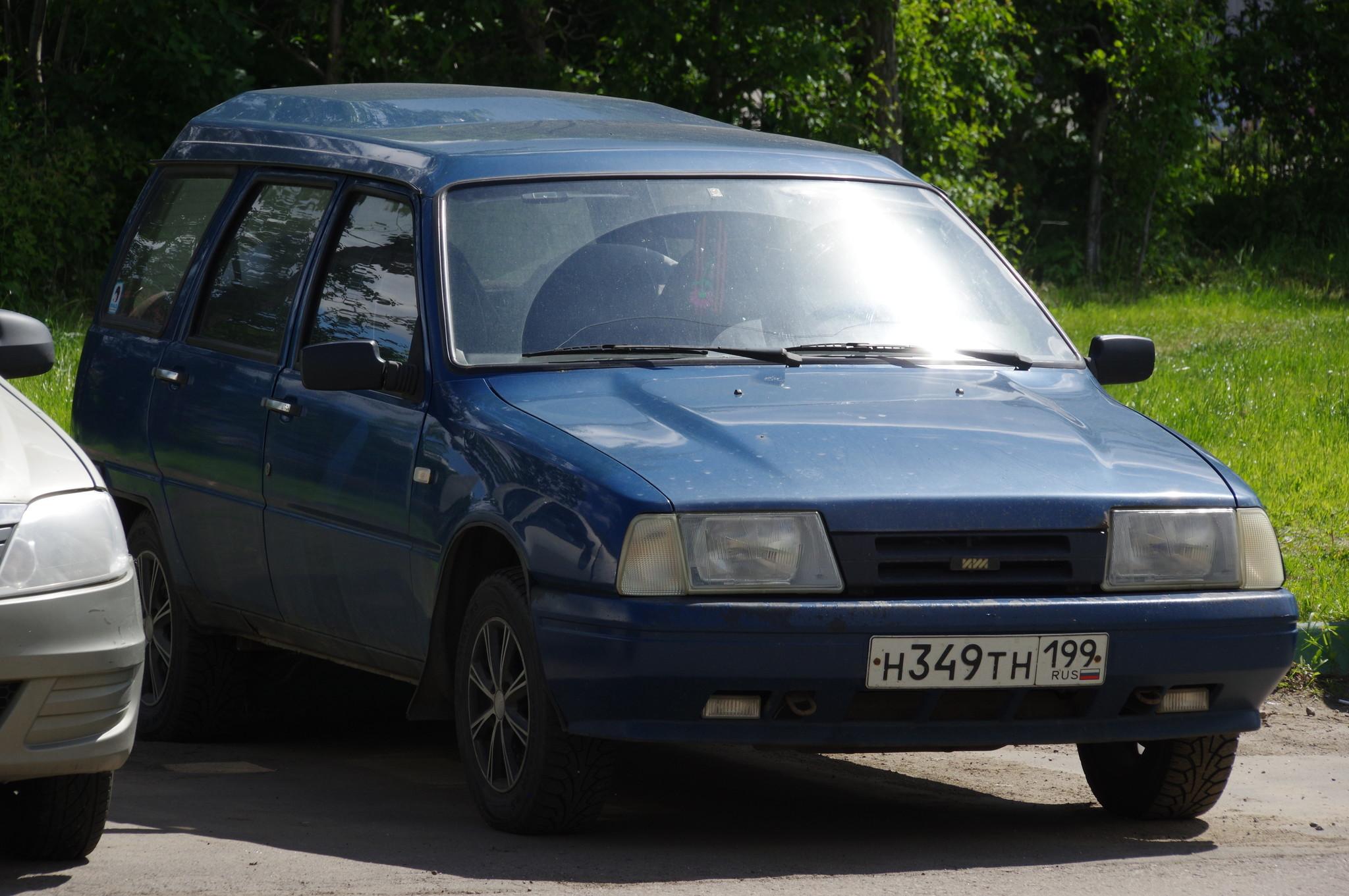 Легковой автомобиль Иж-21261 «Фабула»