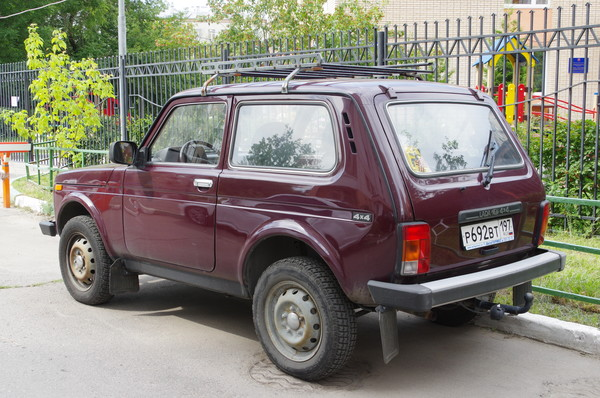 Автомобиль LADA 4х4