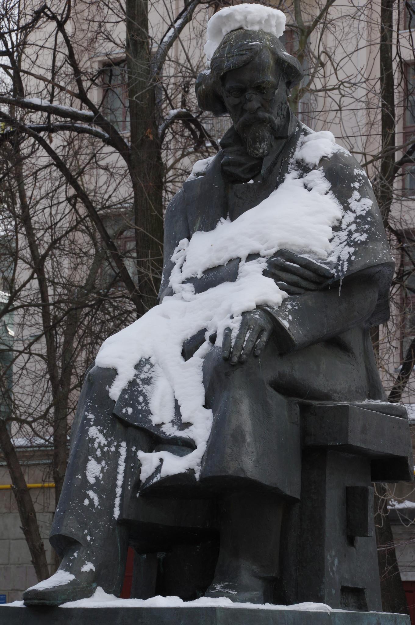Памятник Николаю Гавриловичу Чернышевскому в Москве