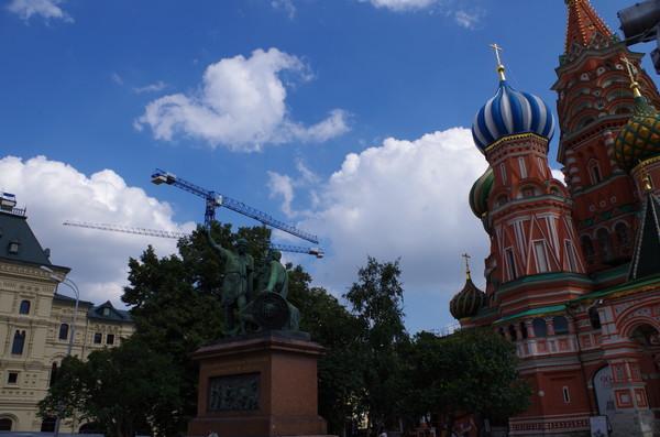 Памятник Козьме Минину и Дмитрию Пожарскому