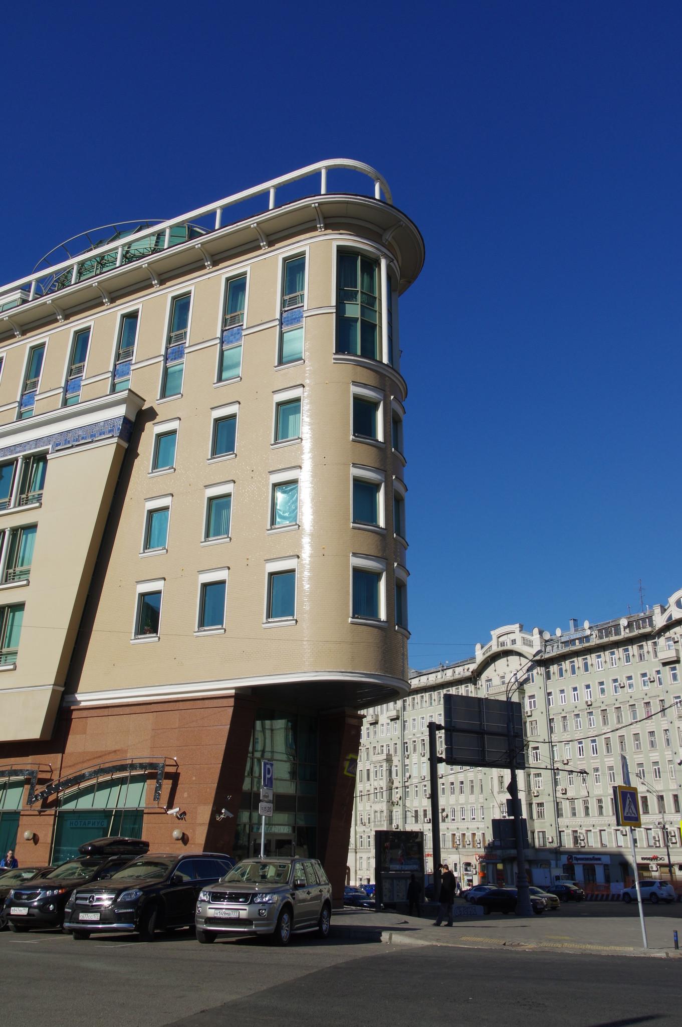 Бизнес-центр «Садовая-Спасская 28»