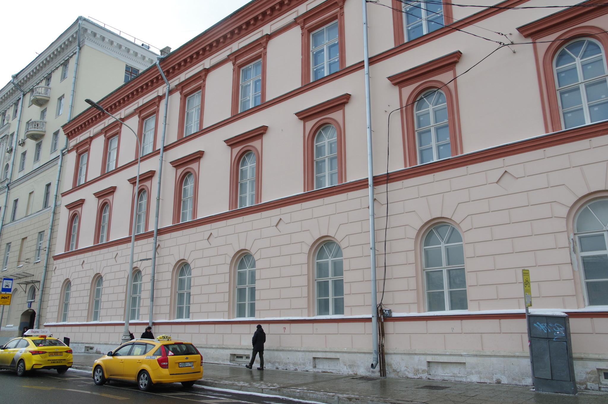 Здание Моспочтамта на улице Мясницкой