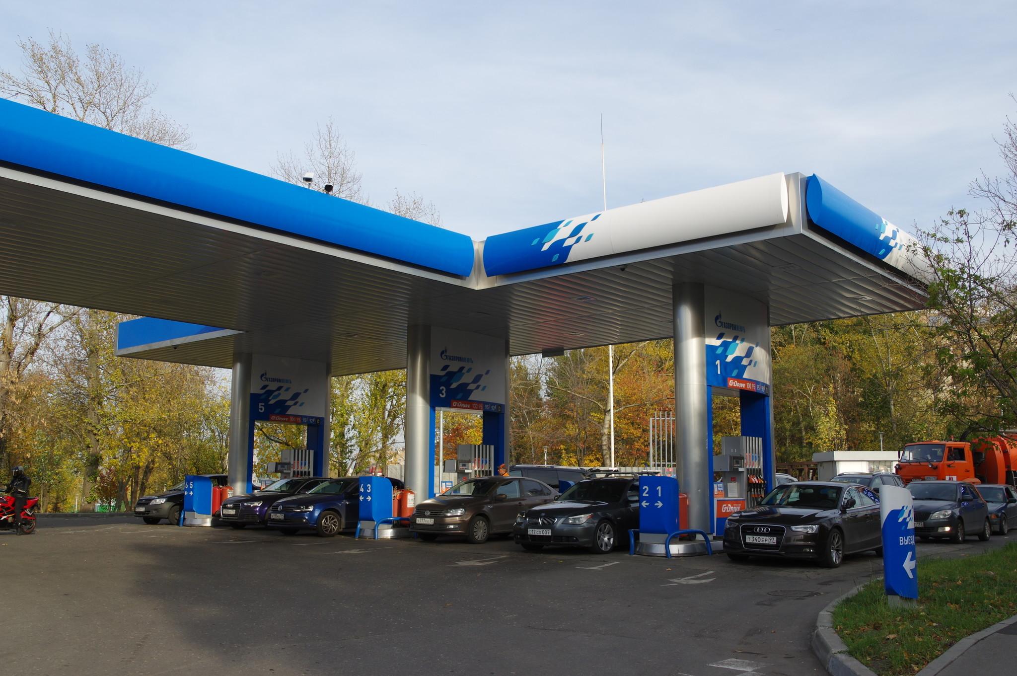 АЗС Газпромнефть (улица Дмитрия Ульянова, дом 9А, строение 1)